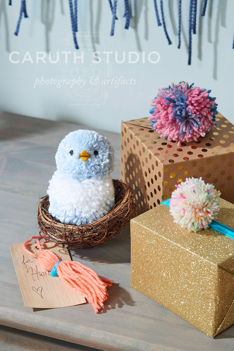 Birdie and pom-pom packages