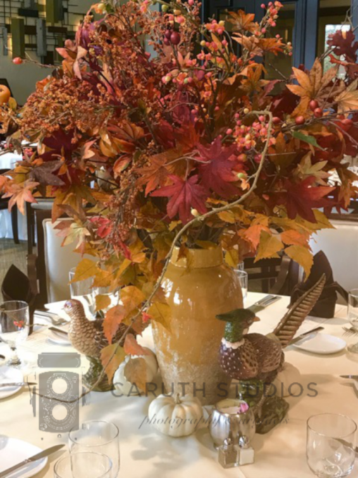 Bouquet of fall leaves