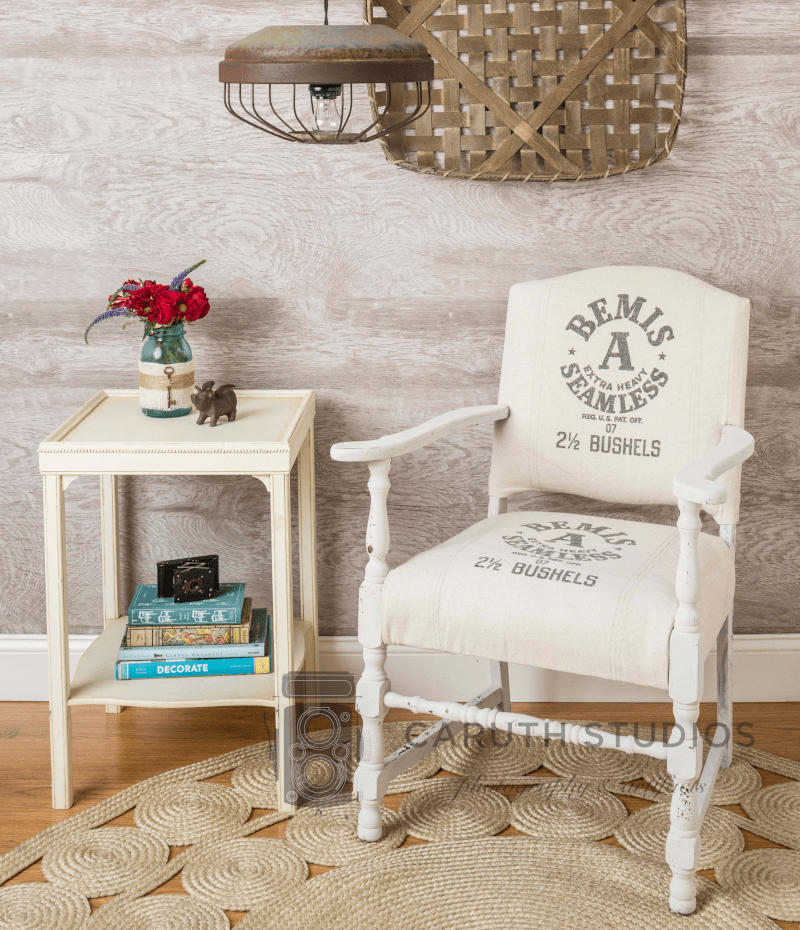 Renewed chair and side table