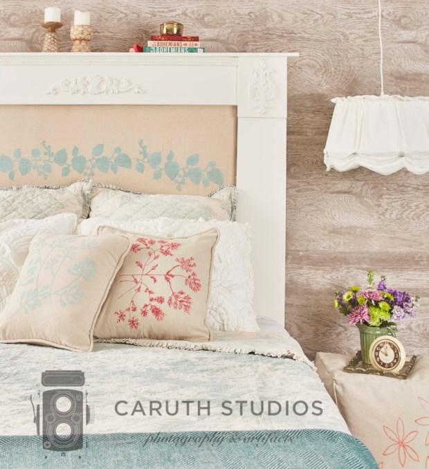 Drop cloth bedroom projects