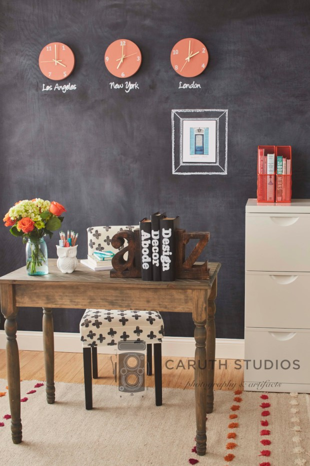 Chalkboard office overall