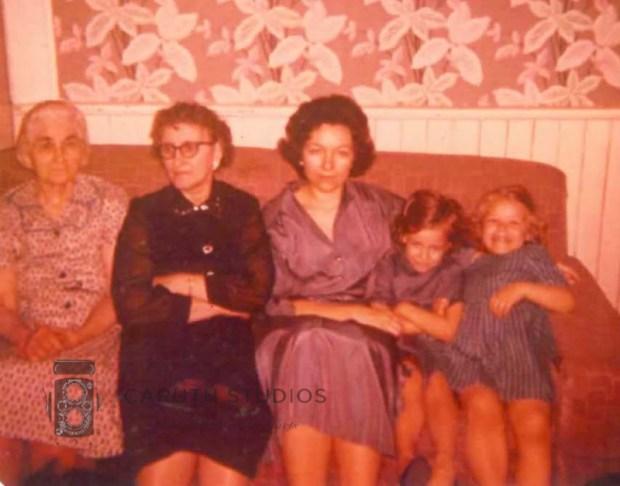 Grannies moms and daughters