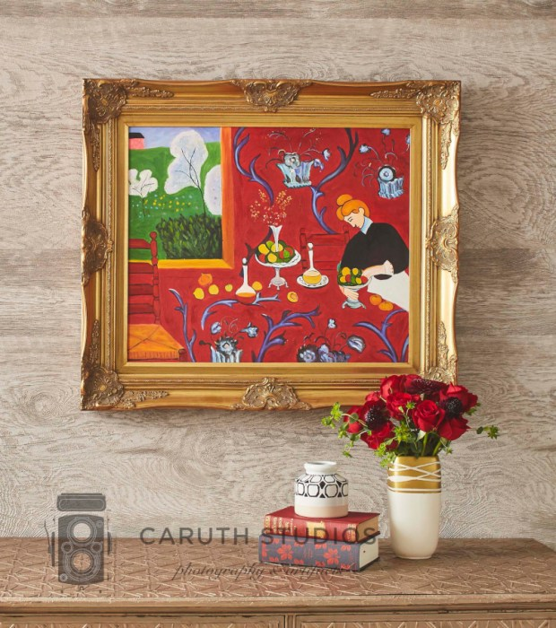 Matisse painting in gilded frame