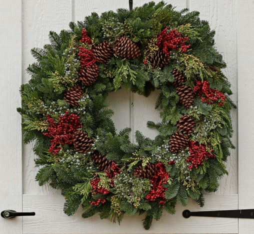 canella berry wreath