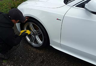 Exterior Car Valeting & Detailing Glasgow