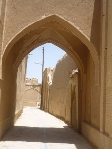calles carvansaray nain iran