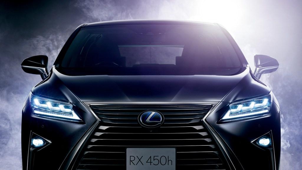 新型レクサスRXの画像