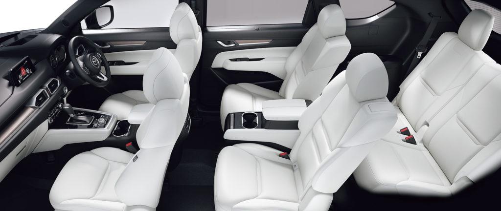 新型CX-8シートカラー
