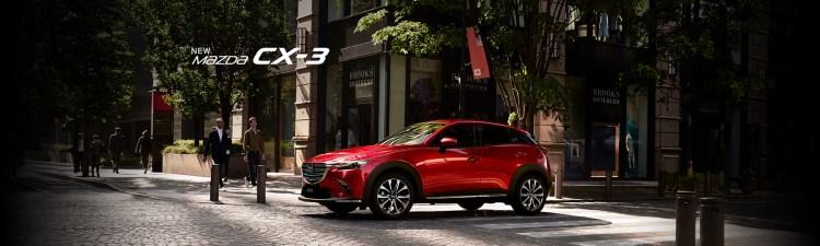2018年新型CX-3のサイズ・価格・スペックまとめ。1.8Lディーゼル車&特別仕様車Exclusive Modsを引っさげ登場だ!