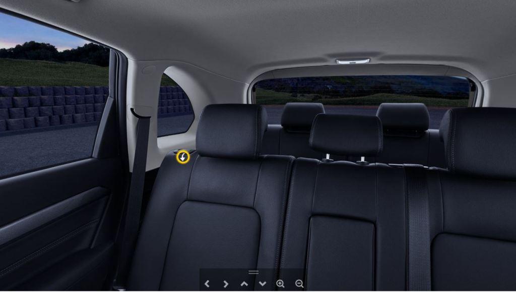 新型キャプティバ内装画像