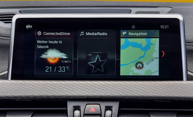 新型BMWX2コネクトドライブ