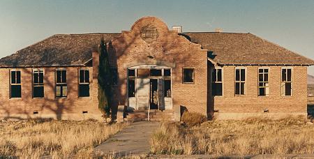 brazito school in ruin