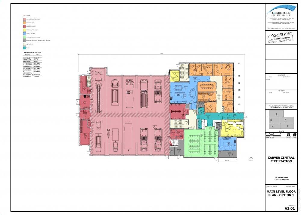 Firehouse Building Plans