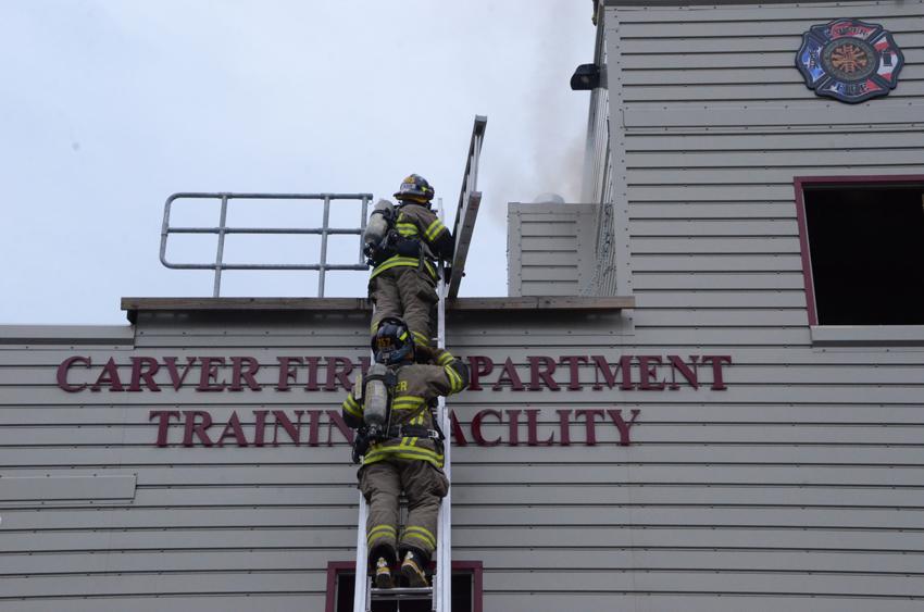 Company 3 Chimney Fire Drill Cfd Training Facility