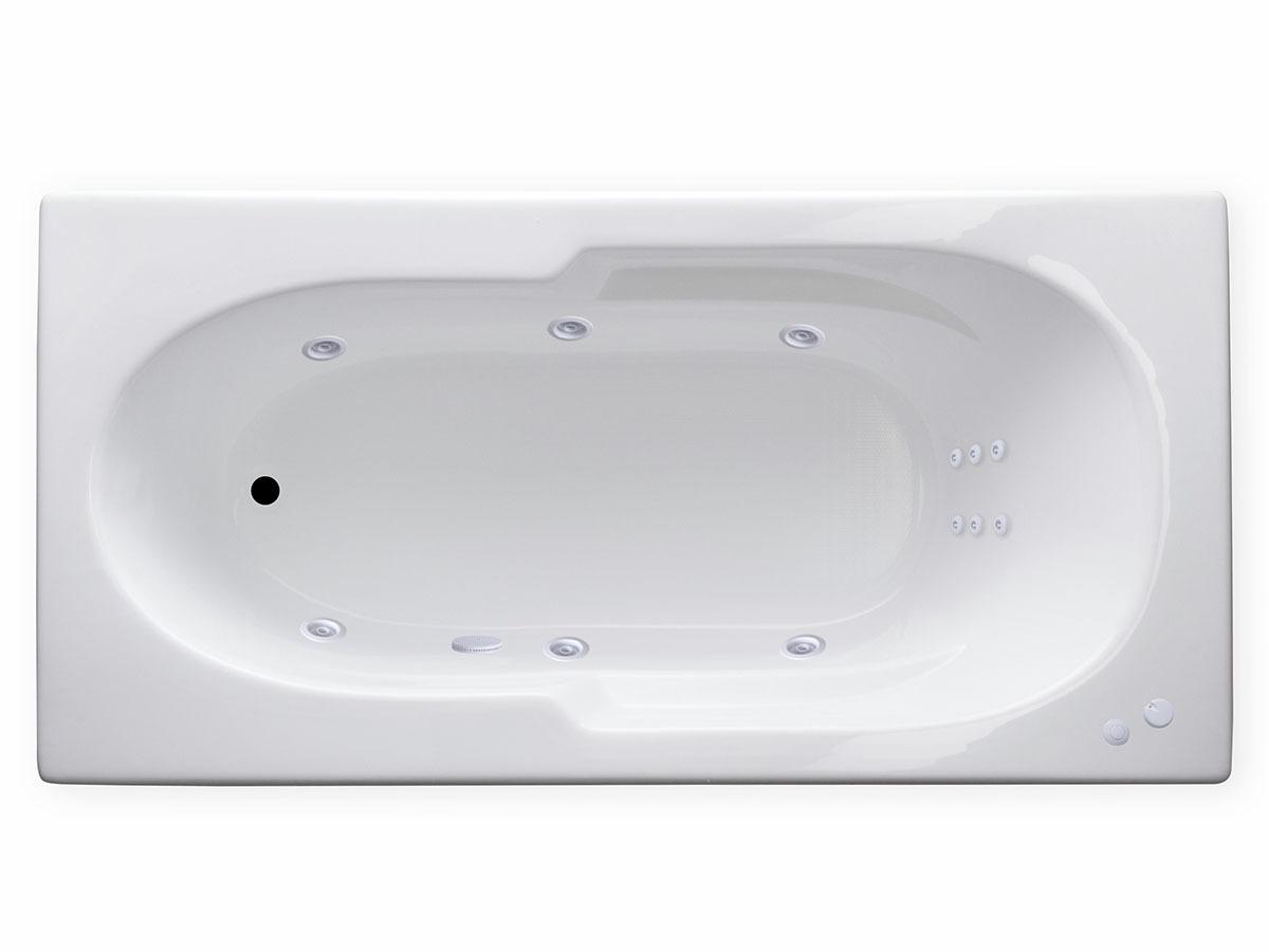 AR7236 72 X 36 12 Jet Whirlpool Bathtub W Heater