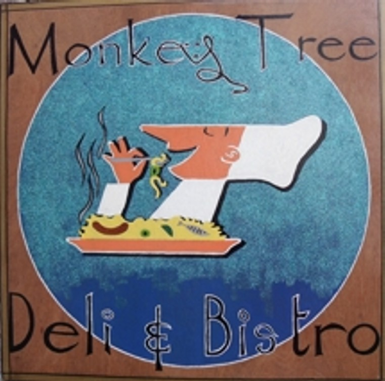 monkey-tree-sign via @carvetiicoffee