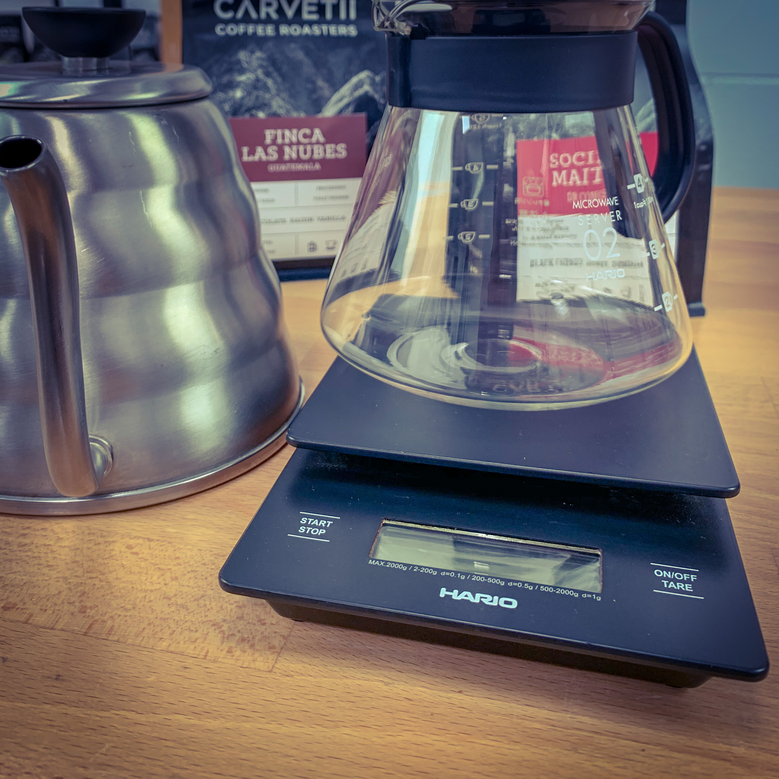 Coffee Brewing Scales via @carvetiicoffee