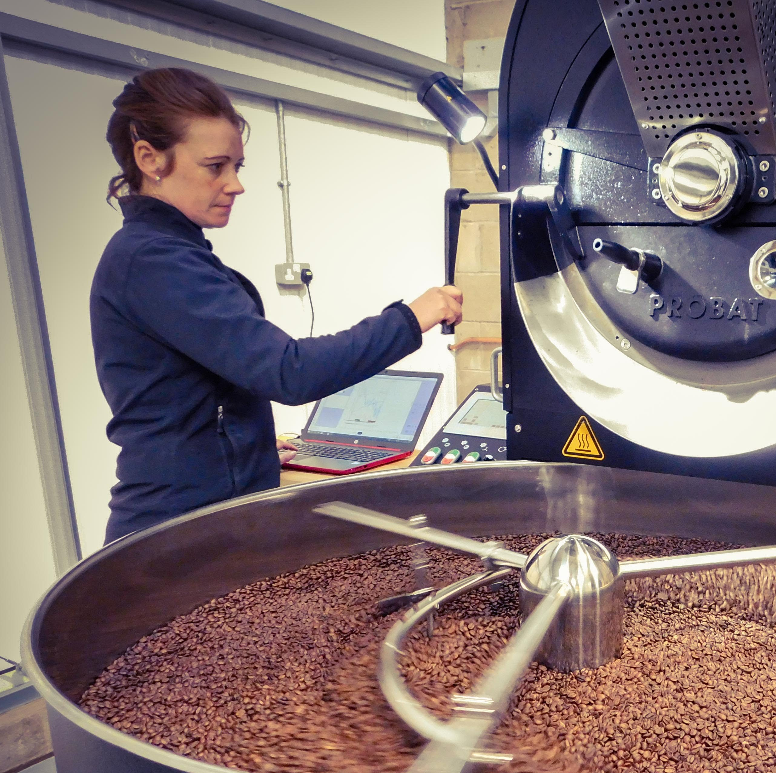 Episode 2: Coffee with Angharad MacDonald, owner and Head Roaster at Carvetii Coffee via @carvetiicoffee