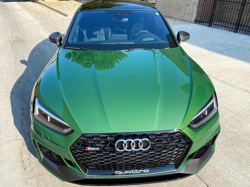 Audi RS5 window tint
