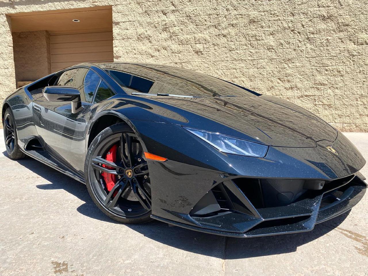 Lamborghini Huracan Evo tinted windows
