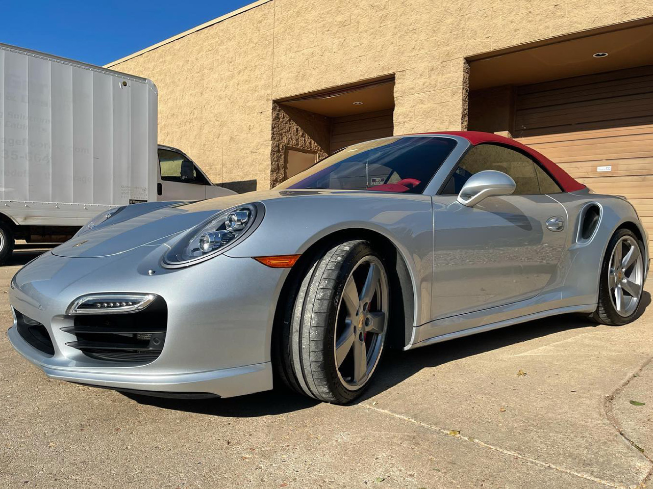 Porsche 911 Turbo tinted windows