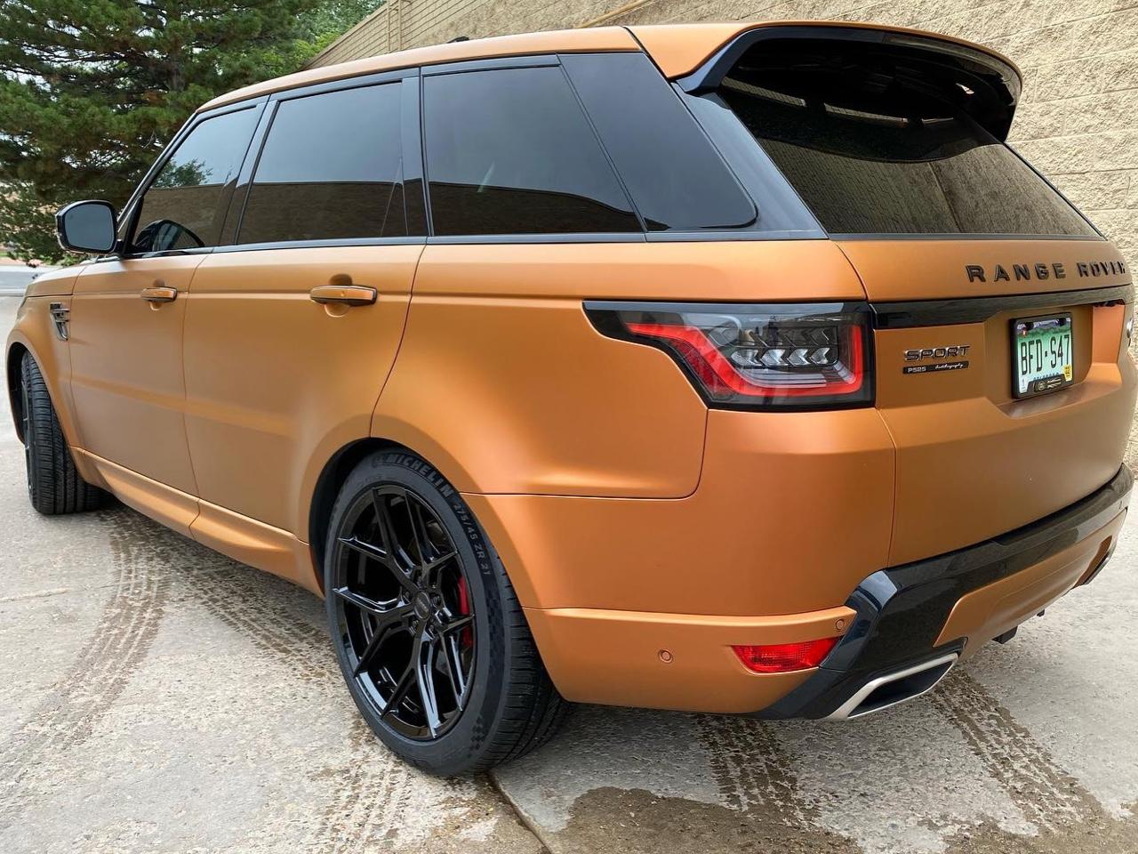 Range Rover Sport tinted windows