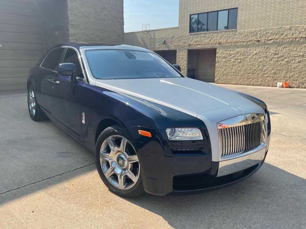 Rolls Royce Ghost window tinting