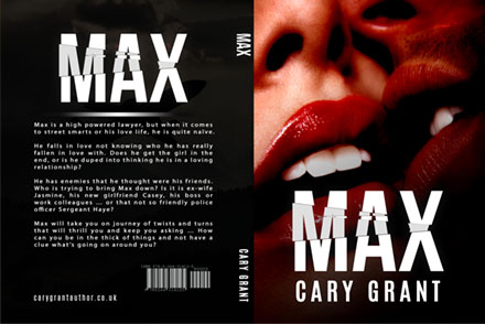 MAX - A new Cary Grant Novel