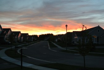 Aug sunset 2014
