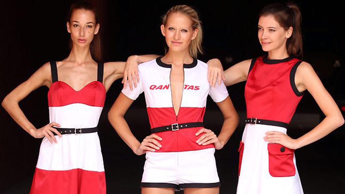 Qantas Grand Prix Grid Girls Uniforms