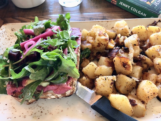 Review First Watch Brilliant Beet Toast With Substitutions Caryn Writes