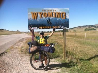 Entering Wyoming, September 2014