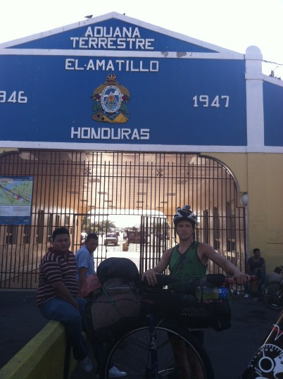 Entered Honduras, then crossed it and left the next day