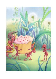 Ants and Cupcake