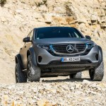 Mercedes Benz Eqc 4 4 Concept Is An Electric Suv Off Roader Cars News Reviews Sport Cars Car Enthusiasts And Many More
