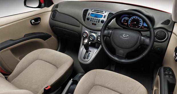 Hyundai i10 Interiors Dashboard
