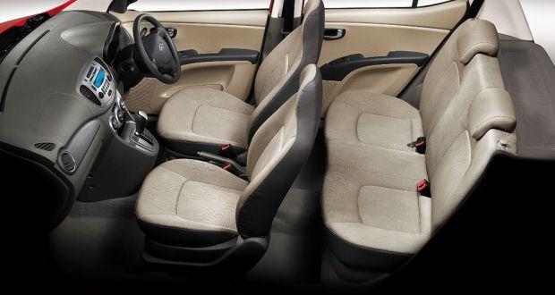 Hyundai i10 Interiors Seats