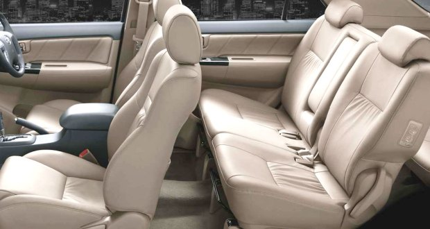Toyota Fortuner Interiors Seats
