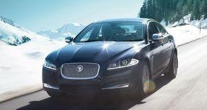 Jaguar XF Exteriors Front View