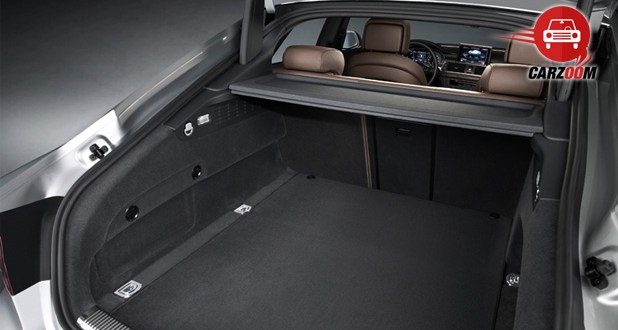 Audi A7 Interiors Bootspace