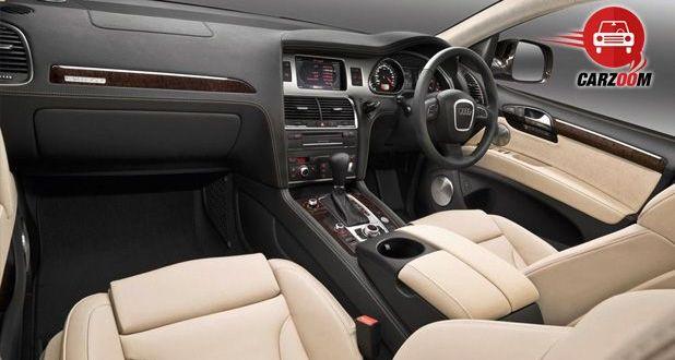 Audi Q7 Interiors DashboardAudi Q7 Interiors Dashboard