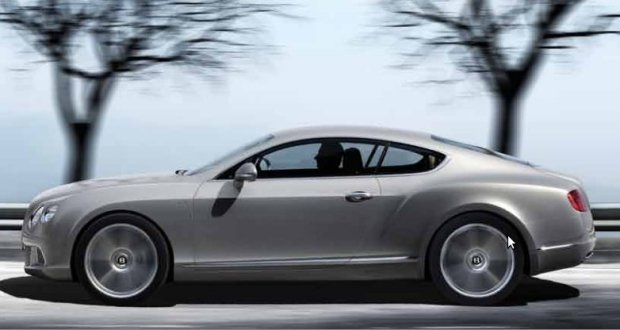 Bentley Continental GTC Exteriors Side View