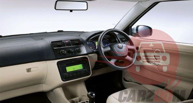 Skoda Fabia Interiors Dashboard