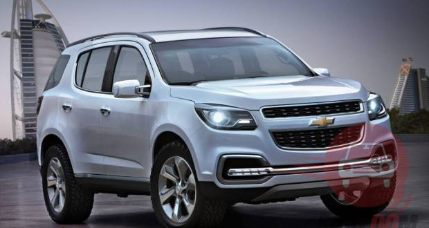 Auto Expo 2014 Chevrolet Trailblazer Exteriors Overall