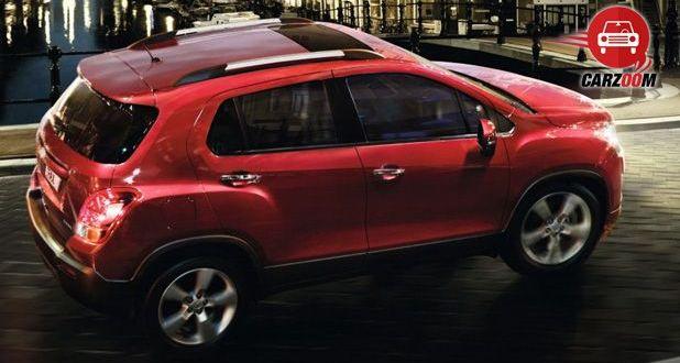 Auto Expo 2014 Chevrolet Trax Exteriors Top View