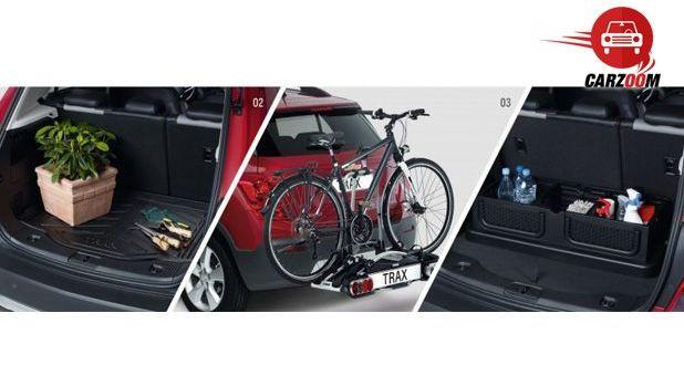 Auto Expo 2014 Chevrolet Trax Interiors Bootspace