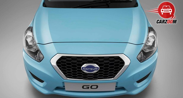 Auto Expo 2014 Datsun Go Exteriors Front View