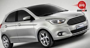 Auto Expo 2014 Ford Ka Concept Exteriors Overall