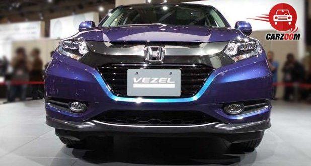 Auto Expo 2014 Honda Vezel Exteriors Front View