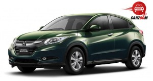Auto Expo 2014 Honda Vezel Exteriors Overall